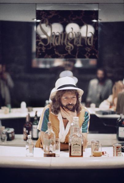 Eric Clapton In The Studio